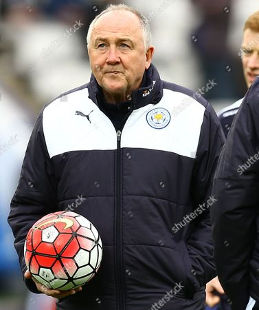 Stock Picture of Leicester City head of recruitment Steve Walsh during the Barclays Premier League match between Leicester City and Swansea City played at The King Power Stadium, Leicester on 24th April 2016