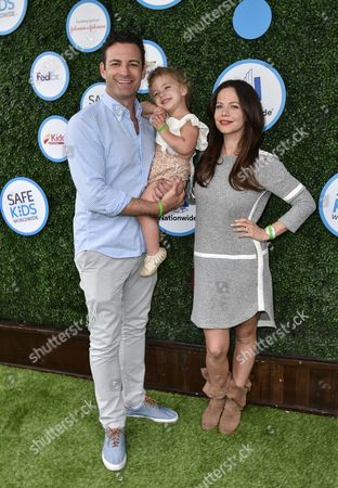 Stock Picture of Sean McEwen, Tammin Sursok and Phoenix McEwen