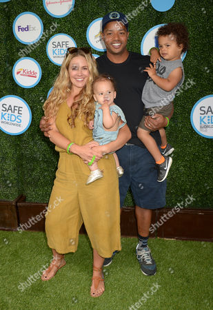 Donald Faison, wife Cacee Cobb kids Wilder Frances Faison, Rocco Faison