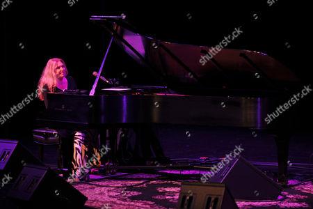 Editorial image of Eliane Elias in concert, The Broward Center, Fort Lauderdale, Florida, America - 24 Apr 2016