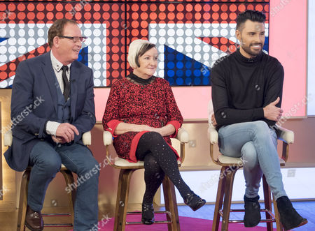Editorial image of 'This Morning' TV show, London, Britain - 25 Apr 2016