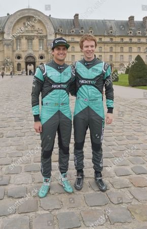 Nelson Piquet Jr and Oliver Turvey