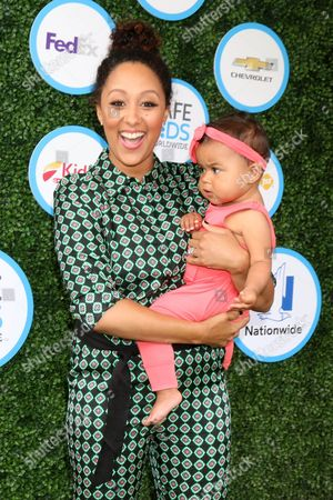 Stock Picture of Tamera Mowry-Housley, Ariah Talea Housley