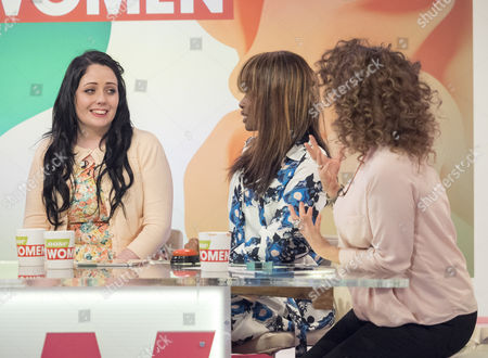 Presenters Andrea McLean, Coleen Nolan, June Sarpong and Nadia Sawalha.  Guests are Balance and Kathleen Jenkins from BGT.