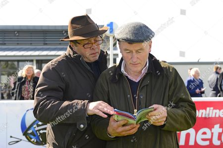 NAAS Trainer GER LYONS owner SEAN JONES Editorial Stock Photo