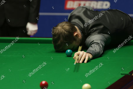Editorial picture of Snooker World Championship, Crucible Theater, Sheffield, Britain - 23 Apr 2016