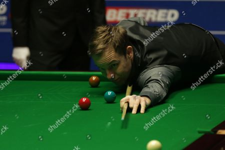 Editorial image of Snooker World Championship, Crucible Theater, Sheffield, Britain - 23 Apr 2016