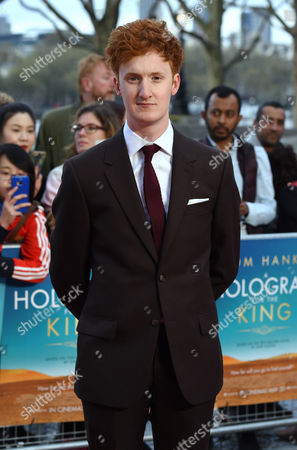Editorial image of 'A Hologram For The King' film premiere, London, Britain - 25 Apr 2016
