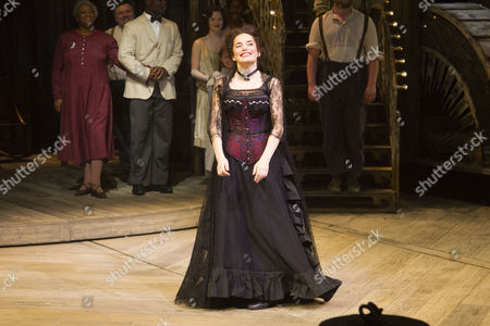 Rebecca Trehearn (Julia La Verne) during the curtain call