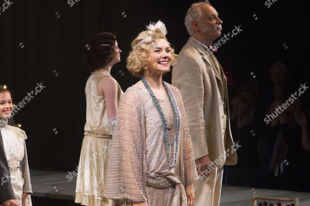 Gina Beck (Magnolia Hawks) during the curtain call