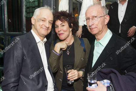 Malcolm Sinclair (Capt Andy Hawks), Ruby Wax and Martin Sherman