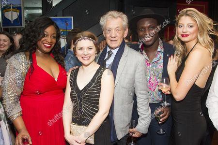 Sandra Marvin (Queenie), Gina Beck (Magnolia Hawks), Sir Ian McKellen, Emmanuel Kojo (Joe) and Elisha Slater