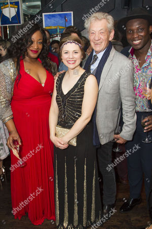 Sandra Marvin (Queenie), Gina Beck (Magnolia Hawks), Sir Ian McKellen and Emmanuel Kojo (Joe)