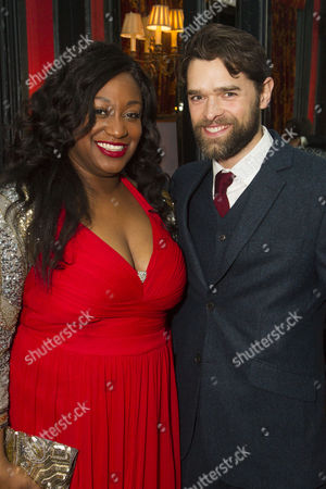 Sandra Marvin (Queenie) and Chris Peluso (Gaylord Ravenal)