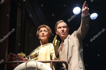 Patricia Hodge as Aunt Augusta and Steven Pacey as Henry