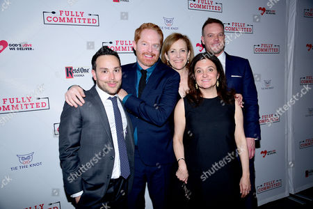 Stock Image of Patrick Catullo, Jesse Tyler Ferguson, Barbara Whitman, Becky Mode, Jason Moore