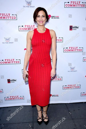 Editorial picture of 'Fully Committed' Broadway show opening night, New York, America - 25 Apr 2016
