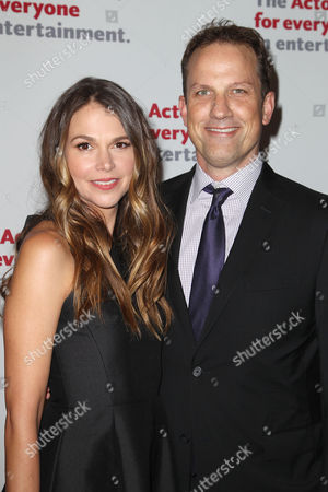 Stock Photo of Sutton Foster and Ted Griffin