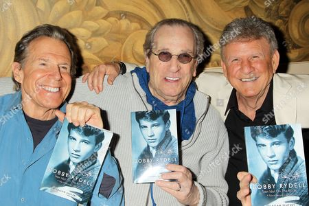 Bill Boggs, Danny Aiello and Bobby Rydell
