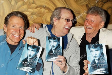 Stock Picture of Bill Boggs, Danny Aiello and Bobby Rydell