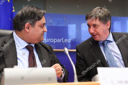 Jan Jambon and Claude Moraes