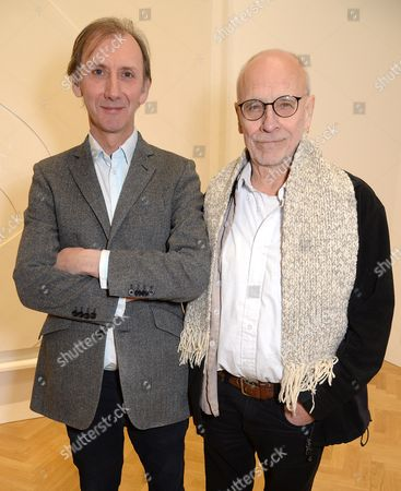 Stock Image of Keith Coventry and John Dumbar