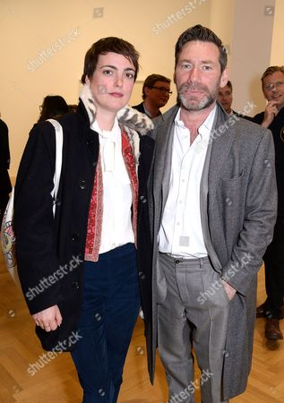Editorial photo of Keith Coventry: White Black Gold Private View, Pace Gallery, London, Britain - 26 Apr 2016