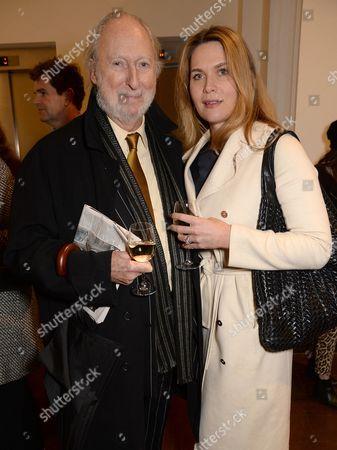 Ed Victor and Celia Walden