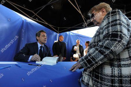 Stock Picture of Nicolas Sarkozy