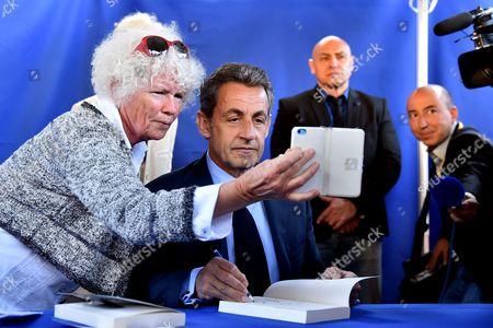 Editorial picture of Nicolas Sarkosy 'La France Pour La Vie' book signing, Nice, France - 26 Apr 2016