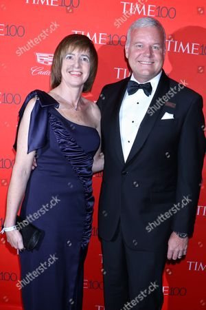 Stock Image of Jackie Berger and Lee Berger