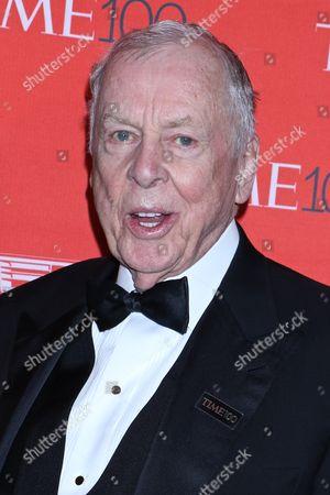 Stock Picture of T. Boone Pickens, Oil billionaire