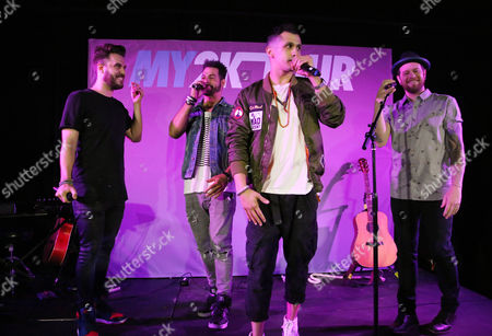 O-Town - Erik-Michael Estrada, Trevor Penick, Jacob Underwood, and Dan Miller