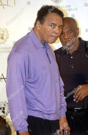 Muhammad Ali and Howard Bingham