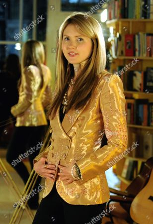 Editorial image of Beatie Wolfe photo shoot, Libreria, London, Britain - 26 Apr 2016