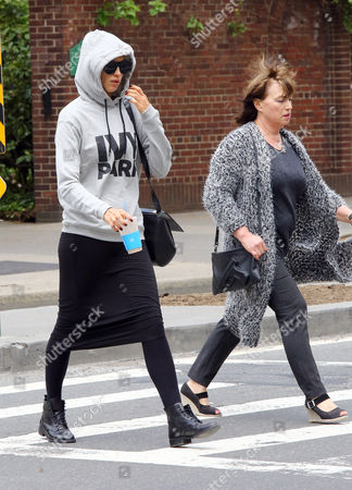 Editorial picture of Irina Shayk out and about, New York, America - 27 Apr 2016