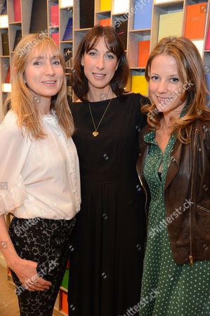 Stock Picture of Jackie Annesley, Samantha Cameron and Tilly Wood