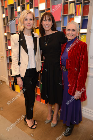 Savannah Miller, Samantha Cameron, and Daphne Selfe