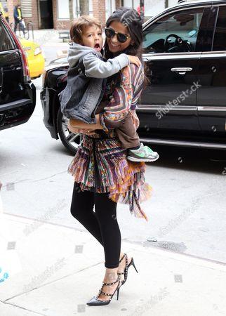 Camila Alves with son Livingston Alves McConaughey