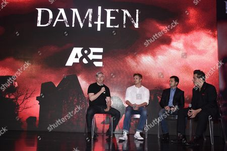 Editorial picture of 'Damien' TV series screening, Mexico City, Mexico - 27 Apr 2016
