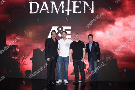 Editorial photo of 'Damien' TV series screening, Mexico City, Mexico - 27 Apr 2016