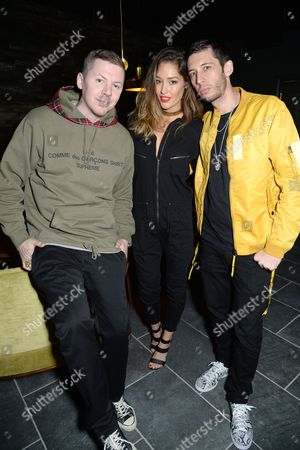 Professor Green, Erin McNaught and Example