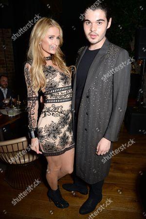 Paris Hilton and Robin Cavalli