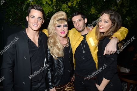 Pietro Boselli, Jodie Harsh, Erin McNaught and Example