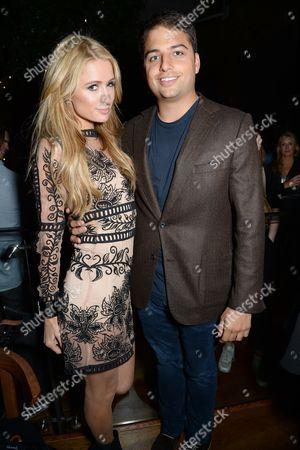 Paris Hilton and Jamie Reuben