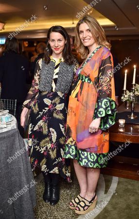 Victoria Siddall and Martina Mondadori