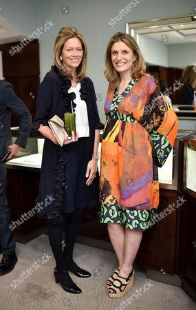Leonie della Casa and Martina Mondadori