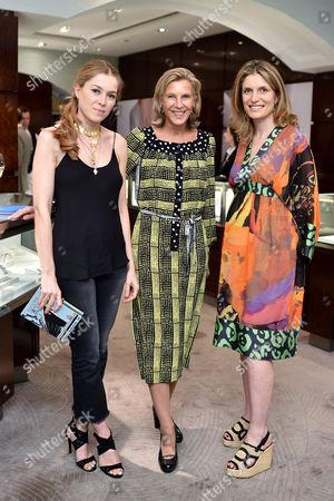 Annina von Pfuel, Katrin Henkel and Martina Mondadori