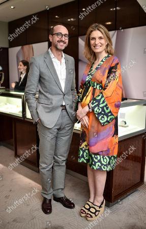 Gianluca Longo and Martina Mondadori