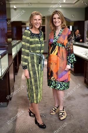 Katrin Henkel and Martina Mondadori